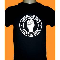 NORTHERN SOUL - fist logo