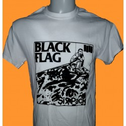 BLACK FLAG - Six Pack retro