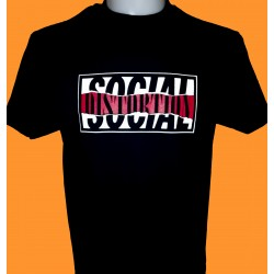 SOCIAL DISTORTION - 1990 logo