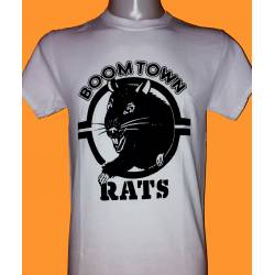 BOOMTOWN RATS - rat logo retro